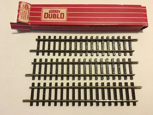 2739 3 x STRAIGHT ISOLATING RAILS 2/3 DOUBLE BOXED