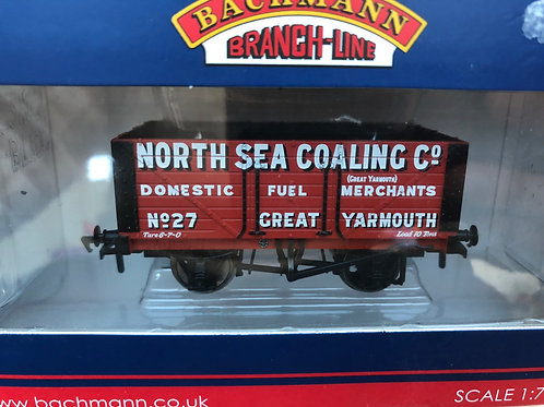 37-112 7 PLANK WAGON NORTH SEA COALING CO.