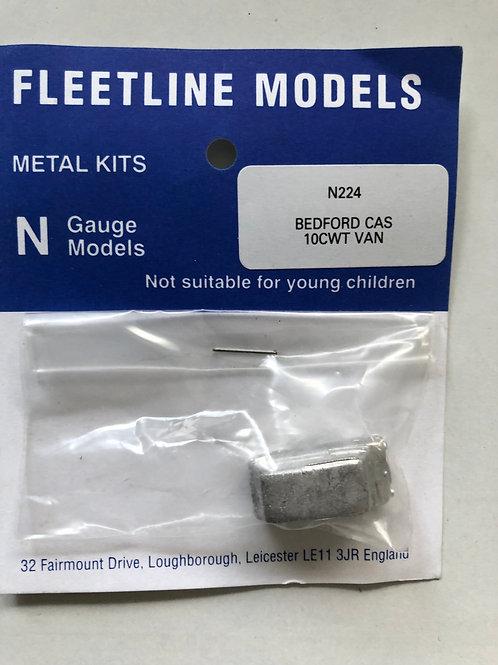FLEETLINE N GAUGE - N224 BEDFORD CAS 10CWT VAN