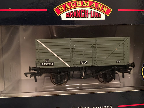 37-128 8 PLANK END DOOR WAGON BR/PO