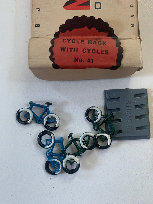 WARDIE MASTER MODELS No 43 CYCLE RACK WITH CYCLES