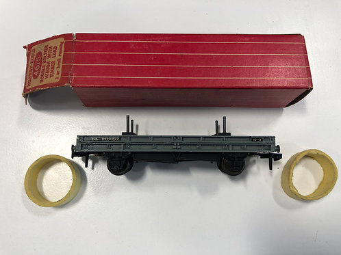 4615 DOUBLE BOLSTER WAGON (plastic couplings) - BOXED