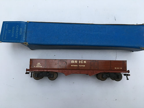 32050 D1 NE HIGH CAPACITY BRICK WAGON RED 10/1951