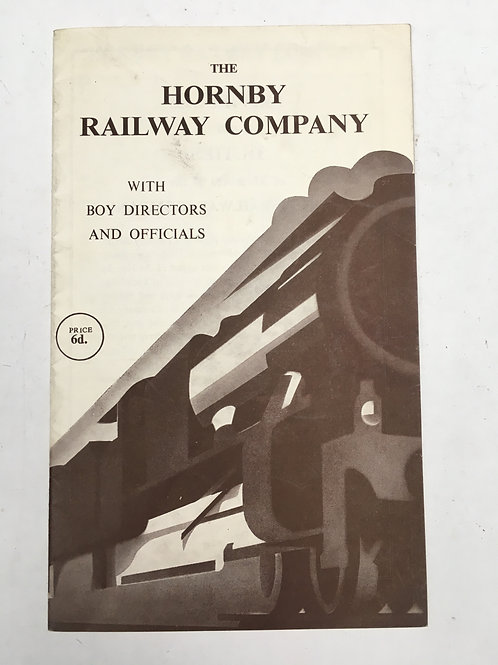 THE HORNBY RAILWAY COMPANY - HANDBOOK
