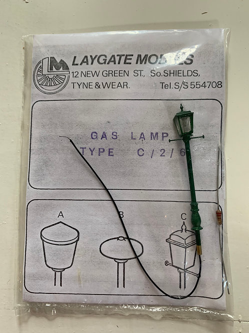 LAYGATE MODELS - GAS LAMP TYPE C /2 / 6
