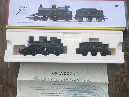 R.2614 GWR 4-2-2 DEAN CLASS LORNA DOONE No 3047
