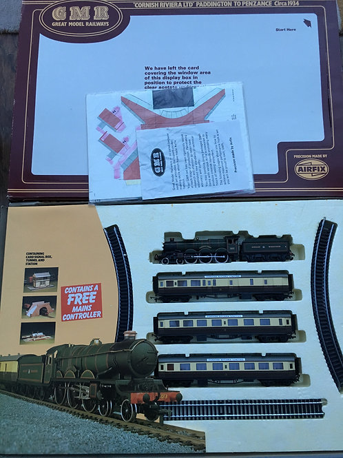 54069-6 GMR CORNISH RIVIERA TRAIN SET