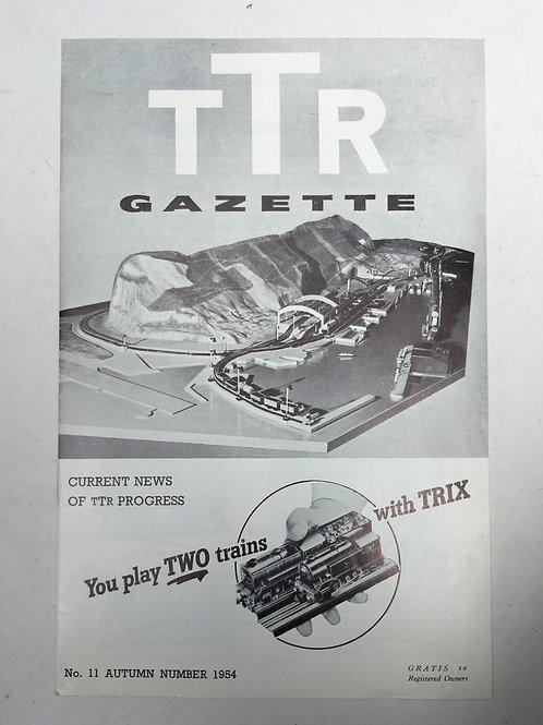 TTR TRIX TWIN RAILWAY - GAZETTE No 11 AUTUMN 1954