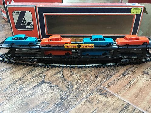 309057W BRITISH LEYLAND CAR TRANSPORTER