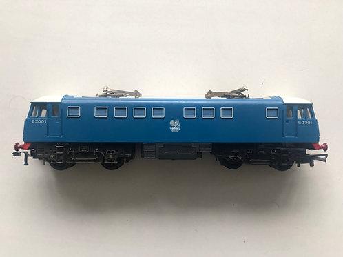 R.753 BR BLUE CLASS A1 ELECTRIC LOCOMOTIVE E3001 - 3-RAIL
