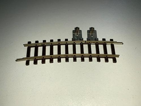 2741 CURVED ISOLATING HALF RAIL SINGLE