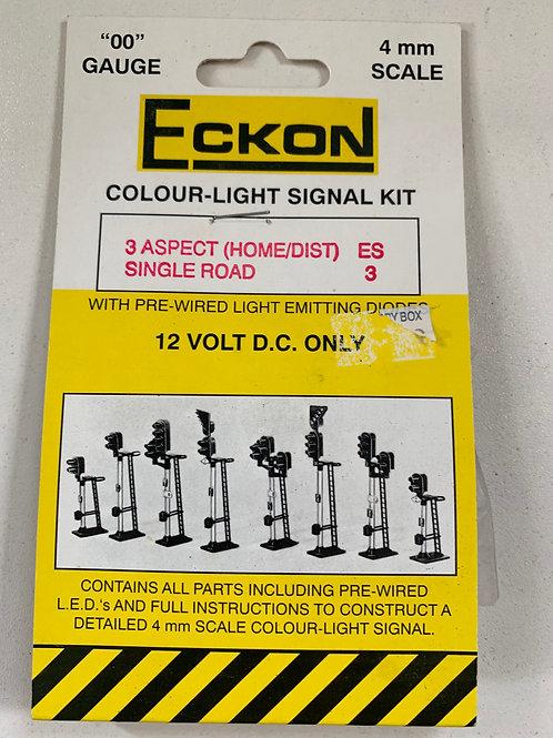 ECKON - ES1 2 ASPECT RED / GREEN COLOUR LIGHT SIGNAL KIT