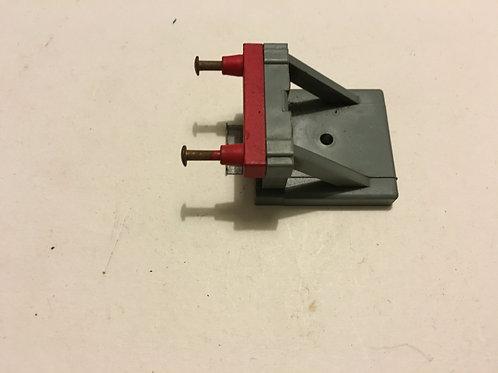 1 x 2450 BUFFER STOP - 2 RAIL (PLASTIC)
