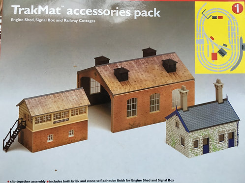 R.8084 ENGINE SHED, SIGNAL BOX & RAILWAY COTTAGES