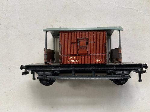 20T TIN BRAKE VAN B.R.  E178717 - 2 OR 3 RAIL