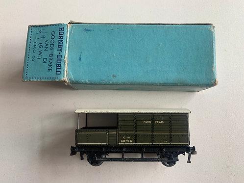 32047 D1 GOODS BRAKE VAN G.W.  68796 PARK ROYAL - BOXED 5/1948