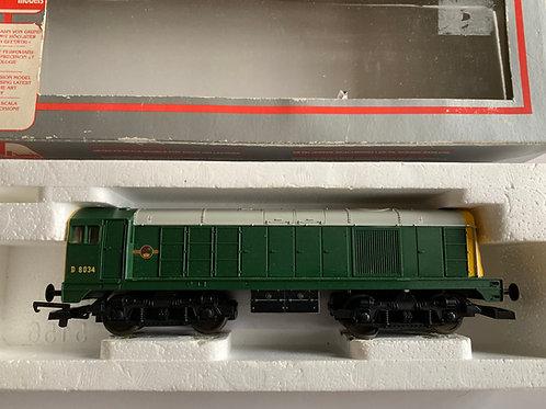 205066A5 BR GREEN BO-BO LOCOMOTIVE D8034