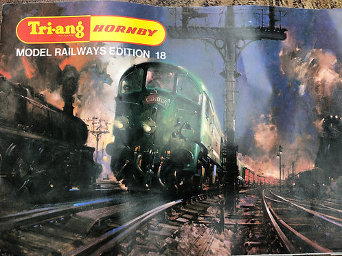 TRI-ANG  RAILWAYS CATALOGUE - 18TH EDITION 1972