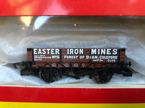 R.6230A 3 PLANK WAGON EASTER IRON MINES No 5 - FOREST OF DEAN