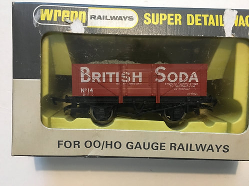 W5069 5 PLANK BRITISH SODA WITH LOAD