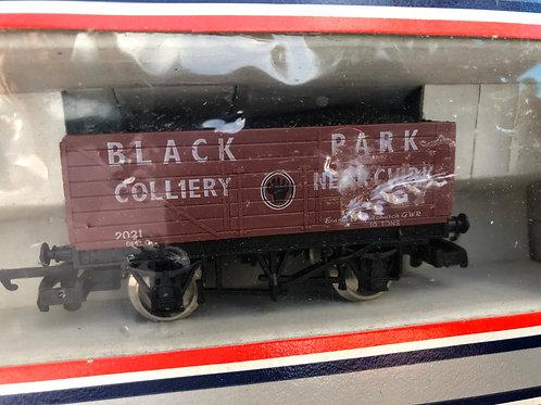 305612W 7 PLANK WAGON BLACK PARK COLLIERY GWR WHITCHURCH
