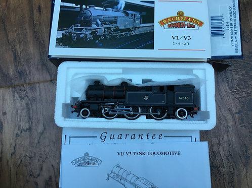 31-610 BR LINED BLACK V1 TANK 67645 E/EMBLEM