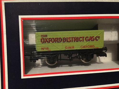 305614W 7 PLANK WAGON OXFORD DISTRICT GAS