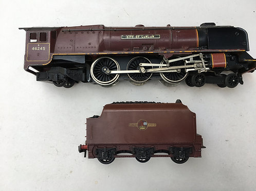2226 CITY OF LONDON LOCOMOTIVE AND TENDER UNBOXED
