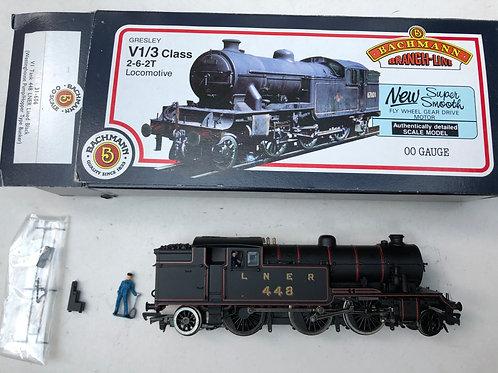 31-606 VI TANK 448 LNER LINED BLACK (WESTINGHOUSE PUMP/HOPPER TYPE BUNKER)