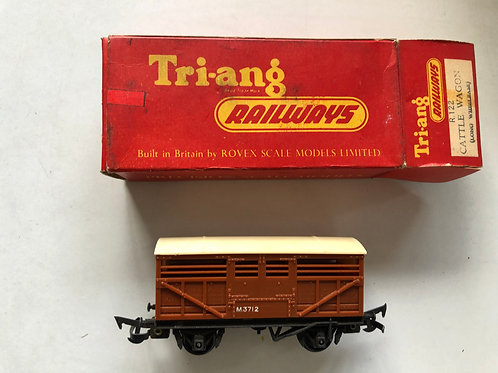 R.122 CATTLE WAGON M3712 (CREAM ROOF)