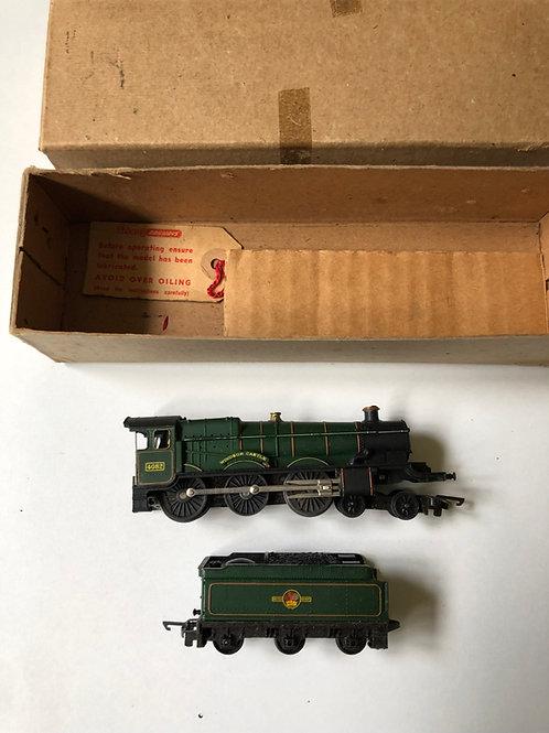 T.91 & T.92 4-6-0 WINDSOR CASTLE LOCO 4082 & TENDER IN REPAIR BOX