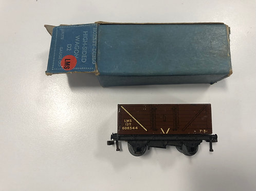 DR378 32030 LMS COAL WAGON HIGH SIDED D2 7/50 BOXED