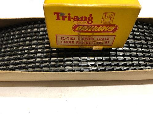 T.153 TYPE B TRACK - 12 x LARGE RADIUS CURVE BOXED