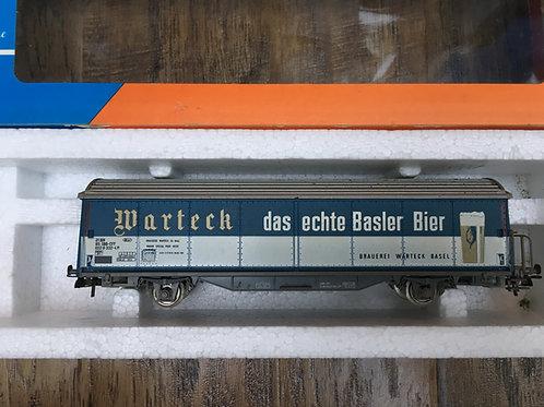 ROCO 4340F SBB WARTECK BEER REFRIGERATED VAN WAGON