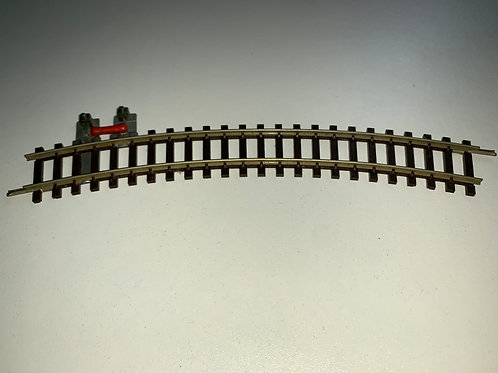 2714 CURVED TERMINAL RAIL WITH SUPRESSOR