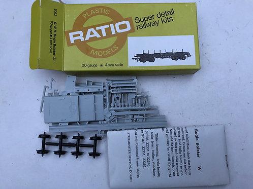 RATIO 5062 GWR BOGIE BOLSTER 'A' WAGON