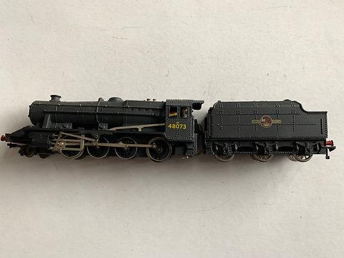 2224 2-RAIL BR BLACK CLASS 8F LOCOMOTIVE 48073 & TENDER - RINGFIELD