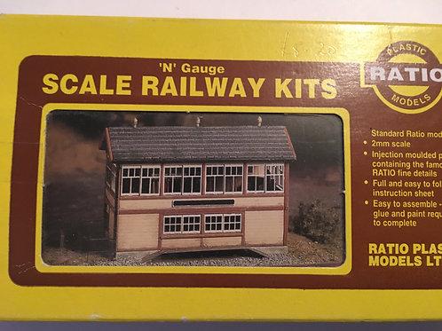 223 GWR WOODEN SIGNAL BOX