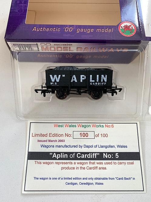 APLIN OF CARDIFF No.5 5 PLANK WAGON - LIMITED EDITION
