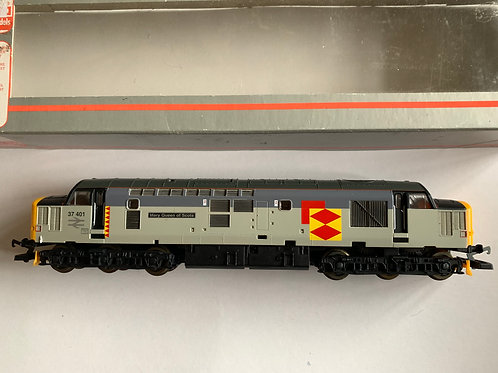 205290A1 CLASS 37 MARY QUEEN OF SCOTS DIESEL LOCOMOTIVE 37401