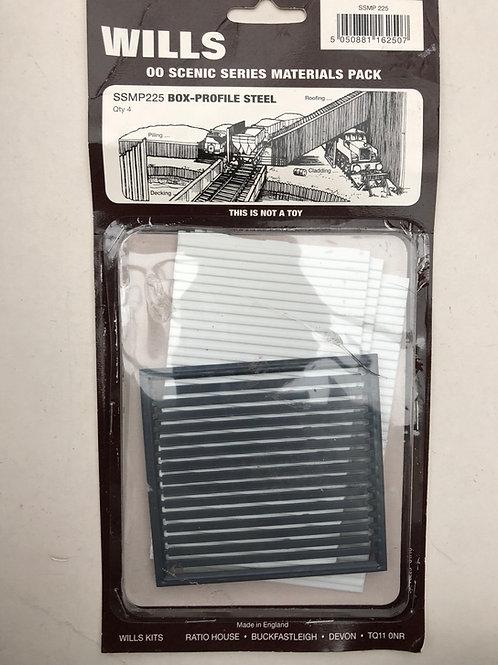 WILLS - SS MP 225 BOX-PROFILE STEEL