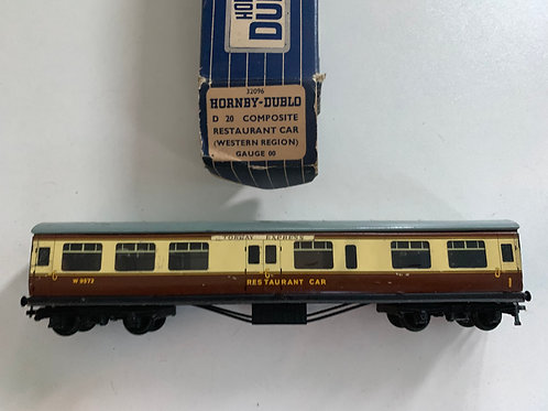 32096 D20 COMPOSITE RESTAURANT CAR W.R. W9572 - 2 or 3 RAIL