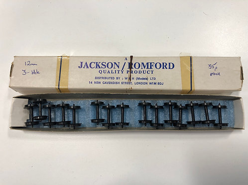 JACKSON ROMFORD - BOX OF 15 12mm 3 HOLE DISC AXLES
