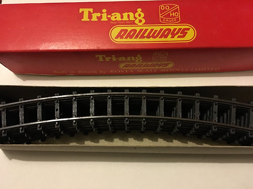 R.195 6x CURVED TRACK LARGE RADIUS SERIES 3 BOXED