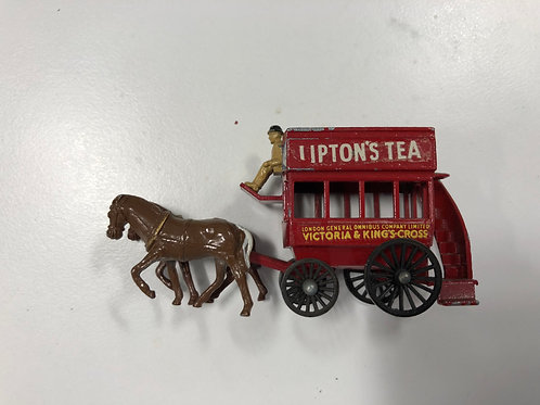 LESNEY No 12 HORSE DRAWN CARRIAGE LIPTONS TEA