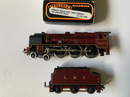 37092 PARALLEL BOILER SCOT LMS CRIMSON LOCO - OLD CONTEMPTIBLES