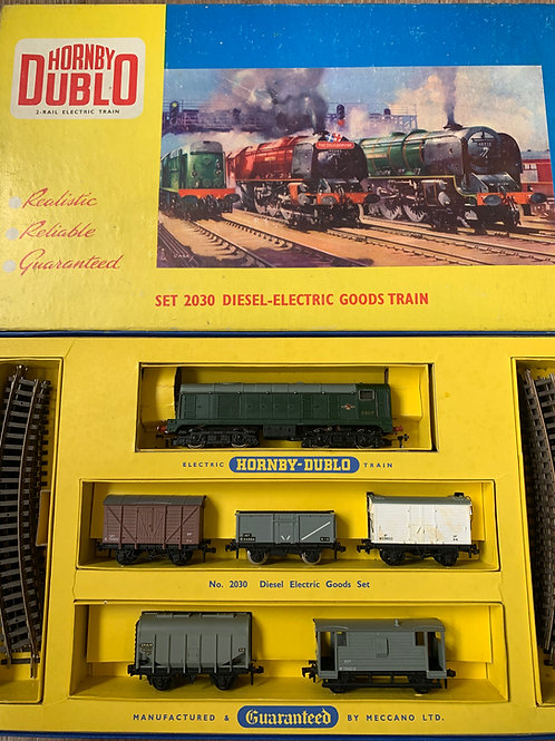 2030 THE DIESEL ELECTRIC GOODS TRAIN SET