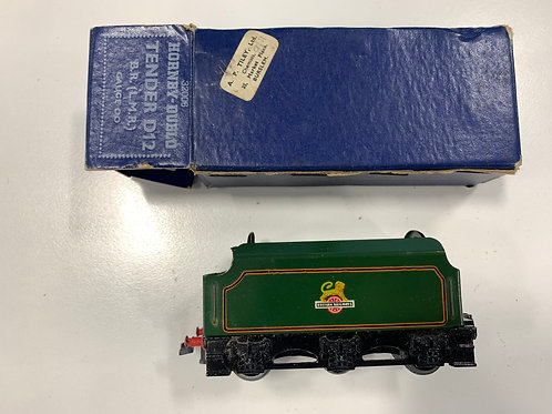 32006 TENDER D12 B.R. (L.M.R.) - BOXED 4/1953