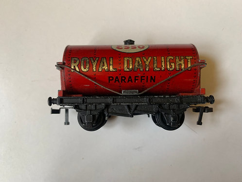 32070 OIL TANK WAGON ROYAL DAYLIGHT UNBOXED 2 OR 3 RAIL