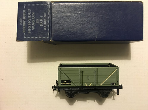 32055 D2 HIGH SIDED WAGON (B.R.) 10/1952 BOXED